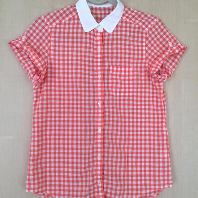 GU(ジーユー)のgu☆半袖シャツ レディースのトップス(シャツ/ブラウス(半袖/袖なし))の商品写真