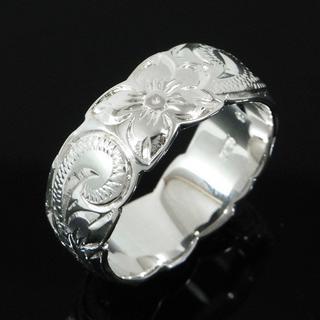 新品 特価品 JP23号 ハワイアンジュエリー プリンセスデザイン 指輪 リング(リング(指輪))