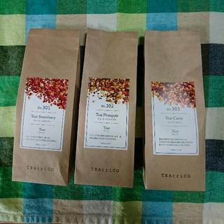 TEAtrico (ティートリコ) 50g3点セット(茶)