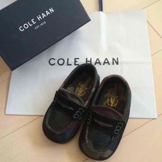 コールハーン(Cole Haan)の【新品・定価10800円】コールハーン キッズ ベビー 靴 カモフラ ドルガバ (ローファー)