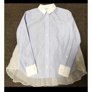 サカイラック(sacai luck)のsacai luck バックシフォンシャツ(シャツ/ブラウス(長袖/七分))