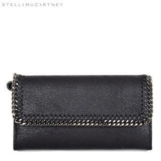 ステラマッカートニー(Stella McCartney)のステラマッカートニー ファラベラ ファラベラ ブラック長財布(長財布)