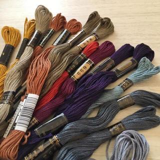 オリンパス(OLYMPUS)のOLYMPUS 刺繍糸 15本 日本製(生地/糸)