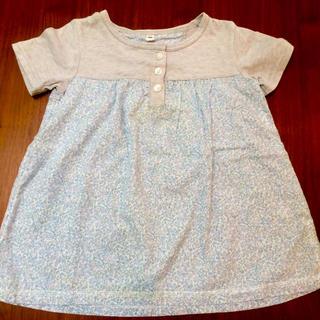 ムジルシリョウヒン(MUJI (無印良品))の半袖 カットソー 100 無印良品(Tシャツ/カットソー)