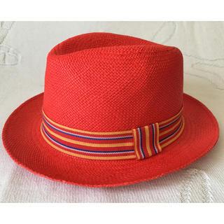 パナマハット(Panama Hat)のECUA-ANDINO🌴未使用✨パナマハット🌞(麦わら帽子/ストローハット)