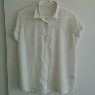 ジーユー(GU)のGU シフォンシャツ 二枚セット(シャツ/ブラウス(半袖/袖なし))