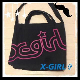 エクストララージ(XLARGE)のX-GIRL トートバッグ(ショルダーバッグ)