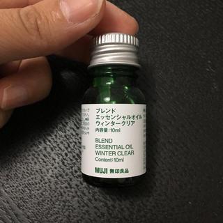 ムジルシリョウヒン(MUJI (無印良品))の無印良品 ブレンドエッセンシャルオイル ウィンタークリア(アロマオイル)