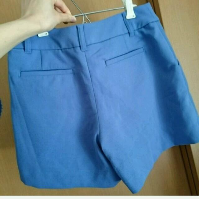 INDEX(インデックス)のindex ブルー パンツ レディースのパンツ(ショートパンツ)の商品写真