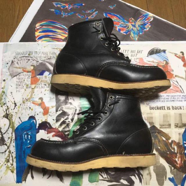 REDWING(レッドウィング)の【レッドウイング】 サイズ9 ブラック メンズの靴/シューズ(ブーツ)の商品写真