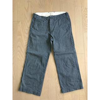 ムジルシリョウヒン(MUJI (無印良品))の7分丈パンツ(デニム/ジーンズ)