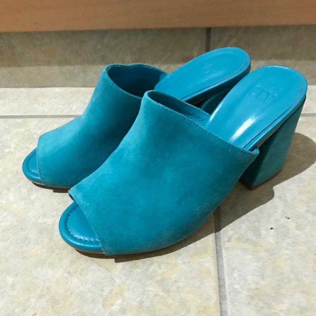 SLY(スライ)のSLY リアルスウェードレザーミュール レディースの靴/シューズ(ミュール)の商品写真