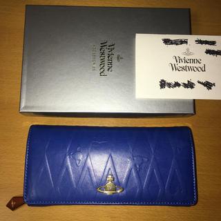 ヴィヴィアンウエストウッド(Vivienne Westwood)の箱付きイタリア製VW長財布(財布)
