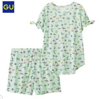 ジーユー(GU)のGU ルームウェア パジャマ サーフ 夏(パジャマ)
