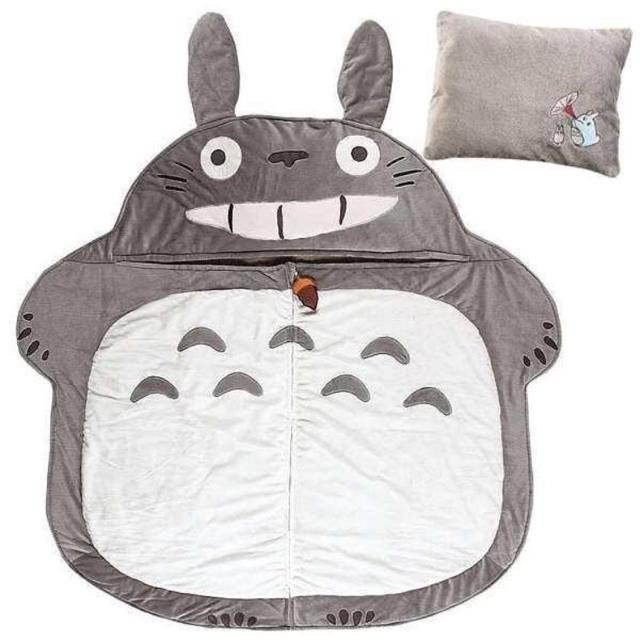 新品 となりのトトロ 寝袋 トトロベッド インテリア/住まい/日用品の寝具(布団