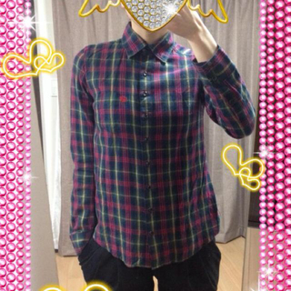 スライ(SLY)のチェックシャツ☆SLY(シャツ/ブラウス(長袖/七分))
