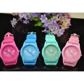 アディダス(adidas)のadidas蛍光色のスポーツ腕時計(腕時計)