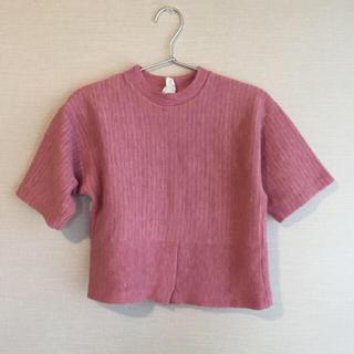 ロキエ(Lochie)のmade in USA 半袖 ピンク トップス(Tシャツ/カットソー(半袖/袖なし))