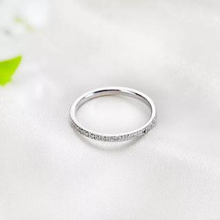 高品質18KRGPホワイトゴールド指輪(リング(指輪))