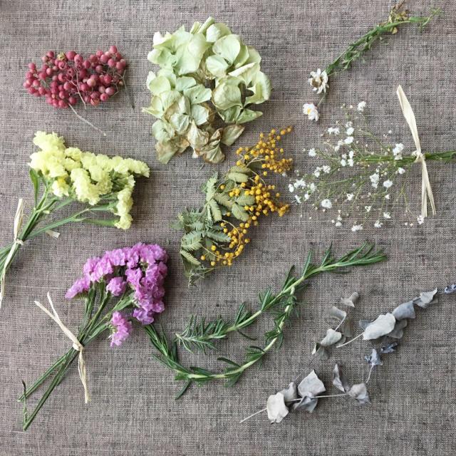 春仕様花材詰め合わせセット・ドライフラワー☆送料無料 商品37 ハンドメイドのフラワー/ガーデン(ドライフラワー)の商品写真