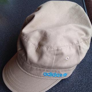 アディダス(adidas)のadidas 帽子♪(キャスケット)