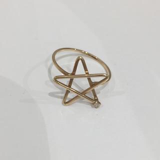 エテ(ete)のete ピンキーリング ダイヤモンド(リング(指輪))