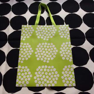 マリメッコ(marimekko)の【新品未使用】マリメッコ プケッティ 紙袋 ペーパーバッグ(その他)