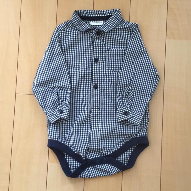 NEXT(ネクスト)の新品★next babyギンガムチェックシャツ キッズ/ベビー/マタニティのベビー服(~85cm)(シャツ/カットソー)の商品写真