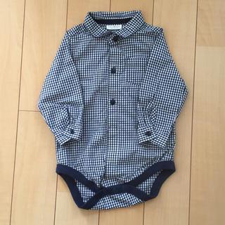 ネクスト(NEXT)の新品★next babyギンガムチェックシャツ(シャツ/カットソー)
