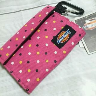 ディッキーズ(Dickies)の☆新品 ディッキーズ ナイロン ウォレット ピンク ドット(折り財布)