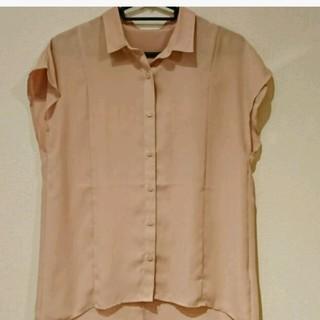 ジーユー(GU)のGU♡ピンクシャツ(シャツ/ブラウス(半袖/袖なし))