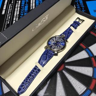ガガミラノ(GaGa MILANO)のGaGa MILANO MANUALE46MM SLIM ACCIAIO (腕時計(デジタル))
