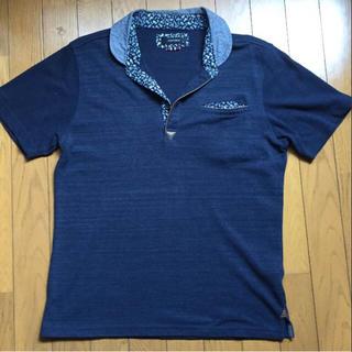半袖シャツ 紺色 サイズ 胸囲96から104㎝(Tシャツ/カットソー(半袖/袖なし))
