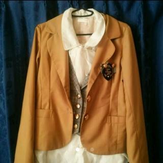 リズリサ(LIZ LISA)の即購入OK!→ジャケット*シークレットハニー・アマベル・アクシーズファム系(テーラードジャケット)