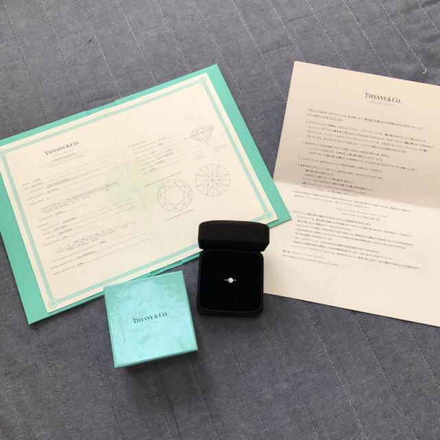 Tiffany & Co.(ティファニー)の新品仕上 ティファニー エンゲージリング 055ct ダイヤモンド PT950 レディースのアクセサリー(リング(指輪))の商品写真