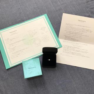 ティファニー(Tiffany & Co.)の新品仕上 ティファニー エンゲージリング 055ct ダイヤモンド PT950(リング(指輪))