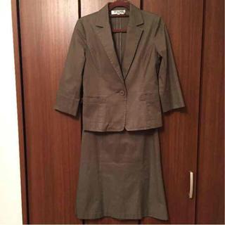 ナチュラルビューティーベーシック(NATURAL BEAUTY BASIC)のナチュラルビューティーベーシック * 七分袖 スカート スーツ セットアップ(スーツ)