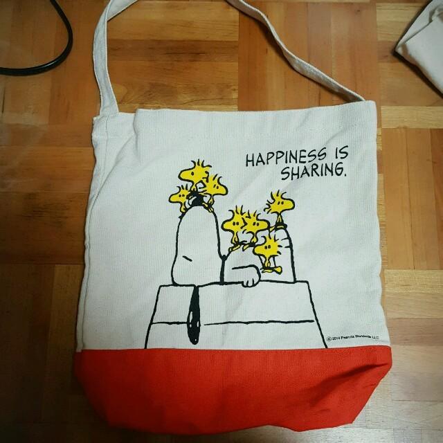 SNOOPY(スヌーピー)のスヌーピー トートバッグ レディースのバッグ(トートバッグ)の商品写真