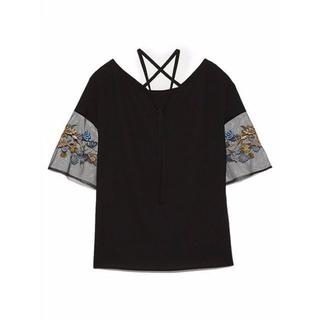 ファーファー(fur fur)の新品刺繍トップス(Tシャツ(半袖/袖なし))