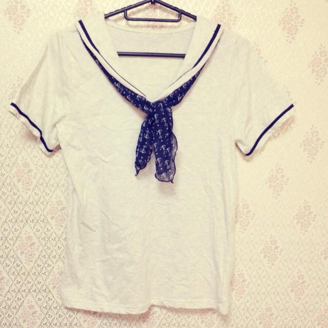 mysty woman(ミスティウーマン)のmystywoman♡セーラーカットソー レディースのトップス(Tシャツ(半袖/袖なし))の商品写真