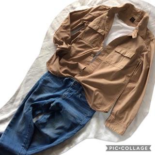 アーバンリサーチ(URBAN RESEARCH)のアーバンリサーチドアーズ ワークシャツジャケット ミリタリーシャツジャケット(シャツ/ブラウス(長袖/七分))