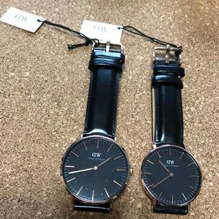 ダニエルウェリントン(Daniel Wellington)のDW ダニエルウェリントン 36.40mm ペア 時計 メンズ レディース(腕時計(アナログ))