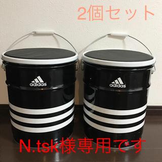 アディダス(adidas)のN.tsk様専用です    アディダス 缶 イス 非売品  2個セット♡(その他)