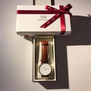 ダニエルウェリントン(Daniel Wellington)のダニエルウィリントン 時計 箱付き takahiroさん専用(腕時計(アナログ))