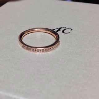 ヨンドシー(4℃)の4℃ 指輪 もこ様専用♡(リング(指輪))