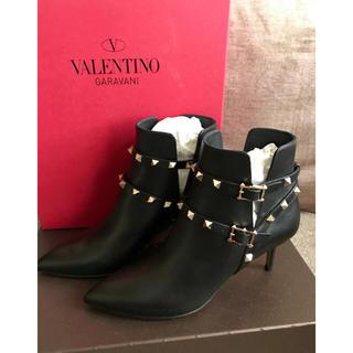 ヴァレンティノ(VALENTINO)の【新品】VALENTINO ショートブーツ(ブーティ)