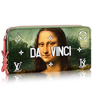 ルイヴィトン(LOUIS VUITTON)の最新作❤️限定❤️ヴィトン ジッピーウォレット 長財布❤️マスターズ モナリザ(財布)