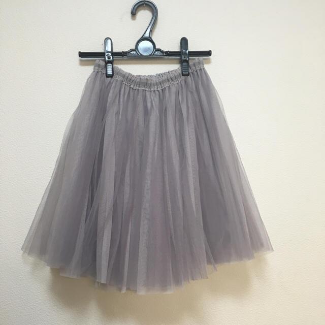 tocco(トッコ)のトッコクローゼット ラベンダーチュールスカート レディースのスカート(ひざ丈スカート)の商品写真