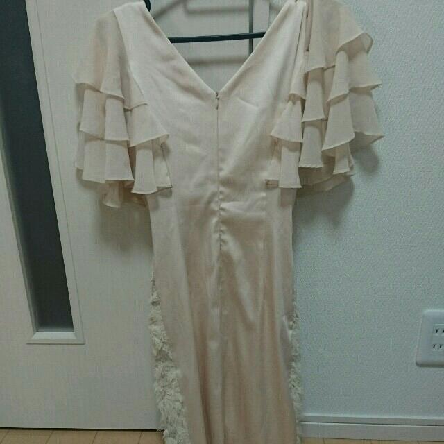 Andy(アンディ)のアンディベージュミニドレス レディースのフォーマル/ドレス(ナイトドレス)の商品写真