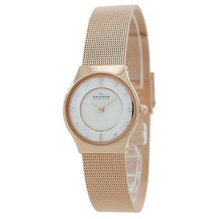 スカーゲン(SKAGEN)の新品 スカーゲン レディース 腕時計 ピンクゴールド 233XSRR(腕時計)